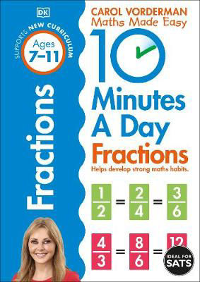 Picture of 10 Minutes a Day Fractions