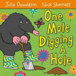 Picture of One Mole Digging A Hole