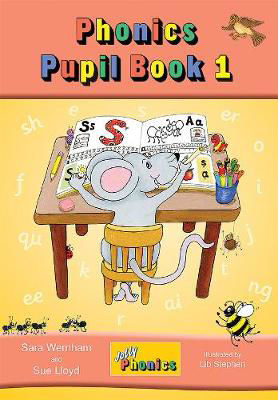 Picture of Jolly Phonics Pupils Book 1 Colour in Precursive Looped Writing