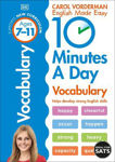 Picture of 10 Minutes A Day Vocabulary, Ages 7-11 (Key Stage 2): Supports the National Curriculum, Helps Develop Strong English Skills