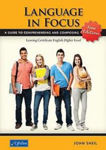 Picture of language in focus leaving cert english higher level