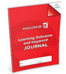 Picture of Learning Outcome and Keyword Journal 160 Pages Educate