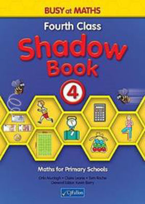 Picture of Busy at Maths 4 Shadow Book CJ Fallon