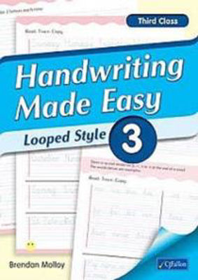 Picture of Handwriting Made Easy Looped Style Book 3 Third Class CJ Fallon