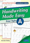 Picture of Handwriting Made Easy Print Style Book A Junior and Senior Infants CJ Fallon