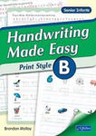 Picture of Handwriting Made Easy Print Style Book B Senior Infants CJ Fallon