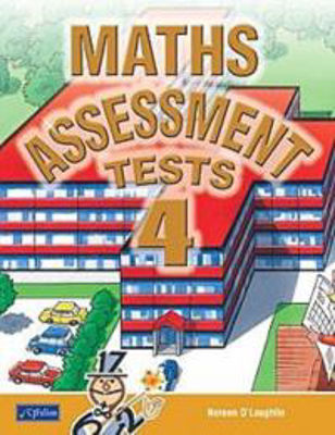 Picture of Maths Assessment 4 Tests Fourth Class CJ Fallon