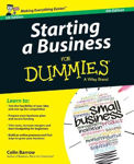 Picture of Starting a Business For Dummies