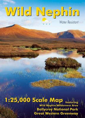 Picture of Wild Nephin 1:25,000 Scale Map Includes Ballycroy & Great Western Greenway