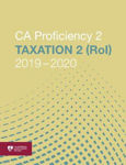 Picture of ca proficiency 2 Taxation 2 (Republic of Ireland) 2019-2020
