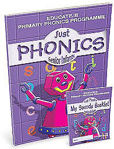 Picture of Just Phonics Senior Infants Plus Sounds Practice Booklet Educate