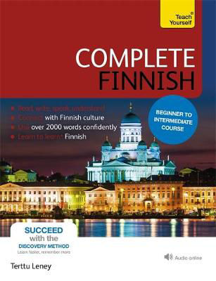 Picture of Complete Finnish Beginner to Intermediate Course: (Book and audio support)
