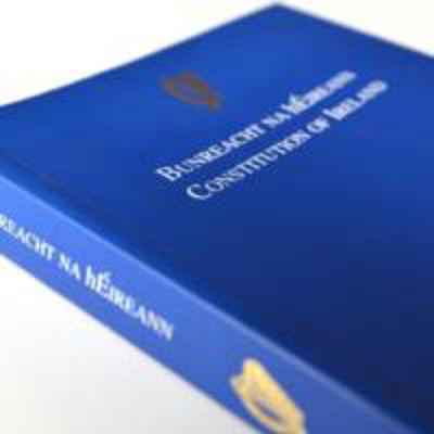 Picture of Bunreacht na hEireann - Constitution of Ireland 2020