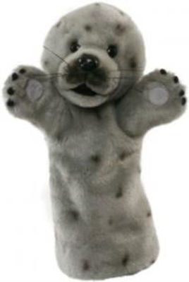 Picture of Lon Sleeve Glove Puppet - Grey Seal