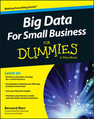 Picture of Big Data for Small Business For Dummies