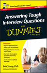 Picture of Answering Tough Interview Questions For Dummies - UK