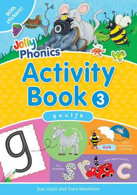 Picture of Jolly Phonics Activity Book 3 Precursive Looped Style