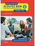 Picture of Ecoutez Bien 2 Book and CD Leaving Cert French Aural Folens