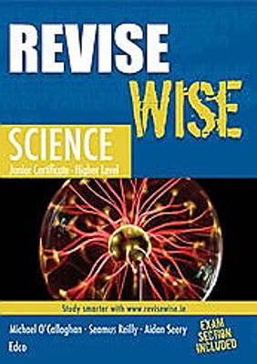 Picture of Revise Wise Science Junior Cert Higher Level Ed Co