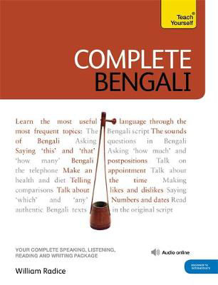Picture of Complete Bengali Beginner to Intermediate Course: (Book and audio support)