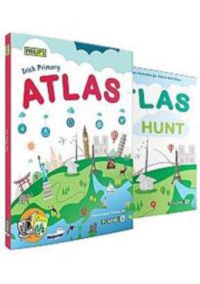 Picture of Philip's Irish Primary Atlas Pack 2016 Set Folens
