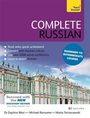 Picture of Complete Russian Beginner to Intermediate Course: (Book and audio support)