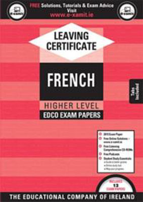 Picture of Exam Papers Leaving Cert French Higher Level Ed Co
