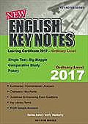 Picture of New English Key Notes Ordinary Level Leaving Cert 2017 Mentor Books