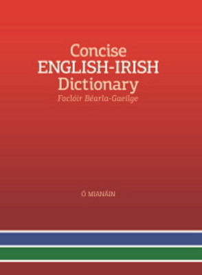 Picture of Concise English-Irish Dictionay (An Foclóir Nua Béarla–Gaeilge)