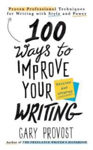 Picture of 100 was to improve your writing