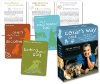 Picture of Cesar's Way Deck: 50 Tips for Training and Understanding Your Dog