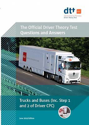 Picture of Driver Theory Test Book : Truck & Bus 2019 ed
