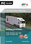 Picture of Driver Theory Test CD-Rom: Truck & Bus 2019 ed