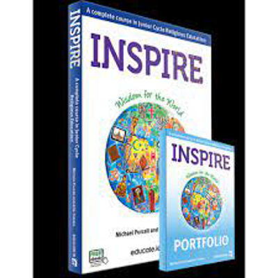 Picture of Inspire. 1st - 3rd Year Junior Cycle Religion Textbook & Portfolio