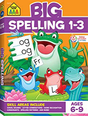 Picture of Big Spelling 1-3 (Big Get Ready Workbook)